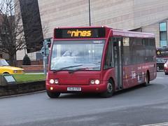 trent barton 428 Derby (Guy Arab UF) Tags: street bus buses derbyshire corporation trent solo barton derby 428 optare wellglade m920 wellgladegroup x628erb