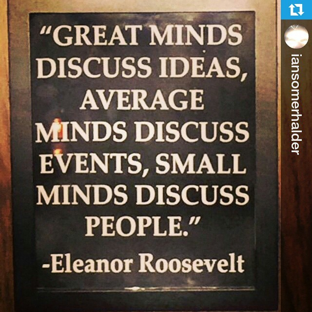 #QuoteOfTheNight #words #theysay #quotes #diokasso 🍭 #ILoveIt #wisewords #goodnight dears #Repost @iansomerhalder ・・・ This woman had a point. Ideas rule. Action, I will add-can be even cooler:)