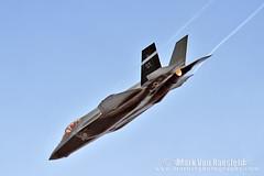 F-35 Flex Departure (mvonraesfeld) Tags: las vegas fighter aircraft aviation military jet ii lightning airforce usaf vapor ot wingtip afb f35 nellis vorticies img4519 lsv klsv