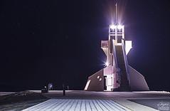 Night shot (Teemu.Valtanen) Tags: nightphotography light sky lighthouse architecture night finland stars nightscape eden oulu nallikari
