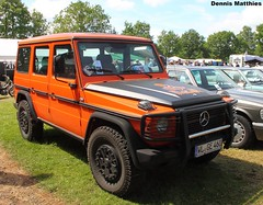 Tough Benz (Schwanzus_Longus) Tags: road black paris car vintage germany wagon mercedes benz offroad 4x4 rally class 350 german winner vehicle dakar bremen suv ge 230 rallye roader offroader bullbar g350 230ge
