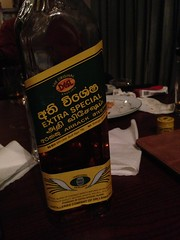 "Having a local spirit called ""Arrack"" with the drivers in the hotel in Nuwara Eliya!"