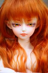 Rorro (Elisabet Threepwood (so busy)) Tags: orange ball fire doll dolls vampire elf bjd custom customs jointed elit minifee wooso elisabetthreepwood elitdolls