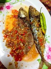 กับข้าวมื้อเย็น ปลาทูเค็ม อร่อยฝุดๆ
