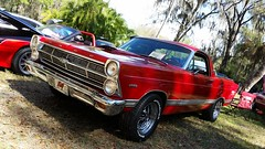 1967 Ford Fairlane Ranchero (amateur photography by michel) Tags: auto old red classic cars vintage automobile florida antique voiture carros fl carshow coches automvil crusein visitflorida