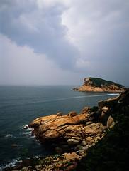(Steve only) Tags: sea sky cloud 120 film mediumformat landscape 645 fuji w 14 wide slide professional velvia shore epson fujifilm 60mm fujichrome fujinon 60 ebc 604 f40 rvp50 v750 gs645s gtx970