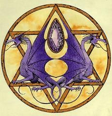 Dragon seal (Infraredd) Tags: dragon amethyst