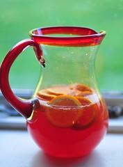 14/5.2016 - gin + campari + blood orange soda (julochka) Tags: orange cocktail gin pitcher campari drinkiepoo