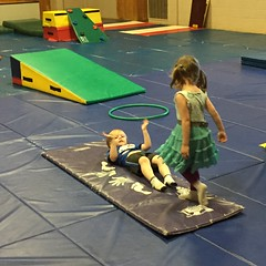 "Paul and Inde Play at Gym Tigers Gymnastics Class • <a style=""font-size:0.8em;"" href=""http://www.flickr.com/photos/109120354@N07/26513196984/"" target=""_blank"">View on Flickr</a>"