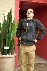 Anthony and the Giant (JenGallardo) Tags: nyc newyorkcity plants newyork giant bronx anthony nybg newyorkbotanicalgarden bronxbotanicalgarden puertoricangiant
