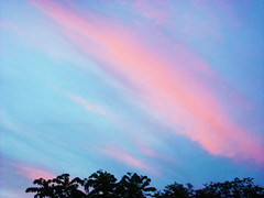 0342011sunsetLMB (lauren_michelle_byckowski) Tags: sunset sky sunlight nature clouds outdoors colorful bright sunsets multicolored