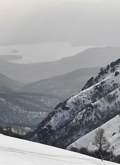 Mottarone (marco boff) Tags: mountain lake snow viewpoint slope lanscape leefilters