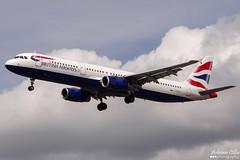British Airways --- Airbus A321 --- G-EUXJ (Drinu C) Tags: adrianciliaphotography sony dsc hx100v lhr egll plane aircraft aviation britishairways airbus a321 geuxj