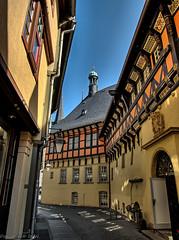 Town Hall Wernigerode (DokuDoc) Tags: deutschland cityhall rathaus walimex f4 hdr wernigerode saxonyanhalt sachsenanhalt rokinon samyang12mm120