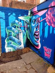 London Street Art Camden Town NW1 (MrScroobs) Tags: england streetart london graffiti stencil camden graf camdentown nw1 northwestlondon pavementart londonstreetart