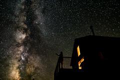 Spray (mickle229) Tags: sky night oregon dark stars cabin desert balcony peaceful spray nighttime galaxy milkyway