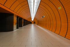 Marienplatz *Explore* (sarah_presh) Tags: orange station architecture germany underground munich lights metro marienplatz nikond750