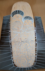 Teratoiid Custom Board - Iconoiid (Teratoiid) Tags: black monster illustration ink boards noir board bruxelles homemade skate satan skateboard linocut monsters creator custom skateboards skates icone encre monstre noire linogravure illustrateur crateur monstres minicruiser teratoiid