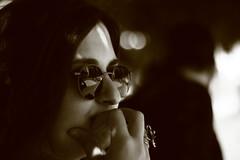 musing (Thanos_Silencio) Tags: portrait monochrome face reflections glasses dof musing canon700d dslrphotograpy