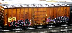 lae - nezo (timetomakethepasta) Tags: lae nezo ync ower lopro sinek helm obese gs sicks freight train graffiti gnwr boxcar