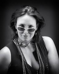Katrina (Oliver Leveritt) Tags: portrait blackandwhite monochrome umbrella sb600 brolly sb800 offcameraflash nikond60 creativelightingsystem nikoncls su800 sigmaapo50150mmf28iiexdchsm oliverleverittphotography