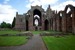 Melrose Abbey - Nave, South Aisle (right) (David_Leicafan) Tags: abbey scotland ruin melrose borders 28mmsummicron