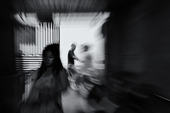 missed opportunities~ Shanghai (~mimo~) Tags: china street blur bicycle alley shanghai zoom streetphotography workshop findingyourselfinthestreets fytis