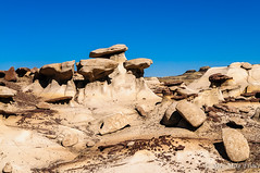 Bisti Hoodoos (BFS Man) Tags: bistiwilderness d300 jackisretirement newmexico nikon badlands hoodoo roadtrip rock sky