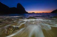 Praia Vermelha,Rio de janeiro (morel_sergio) Tags: sunrise landscape photography longexposure blue red rio brazil rocks sky beach light autumn colors