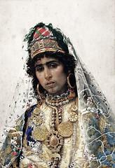 Josep Tapiro, Berber Bride, 1896 (geldenkirchen) Tags: bride berber 1896 spanishpainter joseptapiro