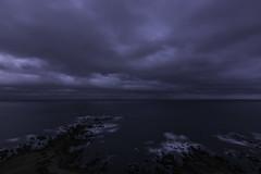 The Never Ending Line (Oscar Perry) Tags: ocean sea sky water clouds coast nikon long exposure horizon wellington d7100
