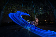 Lightning (bdrc) Tags: asdgraphy tokina 1116mm f28 ultrawide sony a6000 lightning returns final fantasy game night cosplay girl portrait light painting flash corver outdoor long exposure