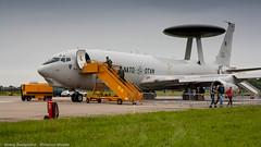 NATO AWACS (Nicky Boogaard Photography) Tags: 2 mi stars casa martin f16 airbus boeing 29 douglas lockheed 35 hind turkish a330 flares mil mig md11 sentry awacs f35 e4 ch47 antonov mcdonnel nf5