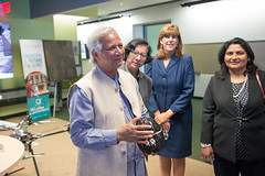Muhammad Yunus Visit (74 of 92) (calit2) Tags: june demo san diego visit speaker commencement visualization muhammad ucsd yunus calit2 2016 ucsandiego muhammadyunus qualcomminstitute