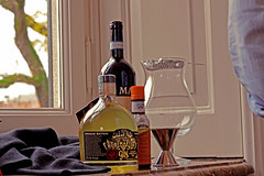 Gin, Valpolicella and Angostura (zano19mn) Tags: wine jigger gin campari