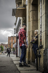 Stop pulling my tassles (tootdood) Tags: square manchester couple stevenson stop pulling fromthehip tassles canon70d
