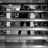 153/366 - Mehrere Ebenen / Multiple Layers (Boris Thaser) Tags: street city people blackandwhite bw window architecture standing project germany bayern deutschland bavaria flickr adult candid library fenster linie bibliothek streetphotography jalousie scene 11 menschen line explore stadt frame creativecommons photoaday architektur layer blinds sw 365 unposed projekt rahmen augsburg tog pictureaday szene bücherei scheibe 366 ebene ungestellt stehend schwarzweis project365 strase project366 erwachsener strasenfotografie streettog fujifilmxt1 fujixt1 zweisichtde zweisichtig