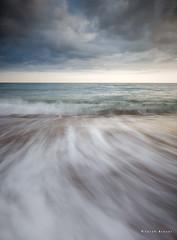 Turn of the Tide (Sarah_Brooks) Tags: longexposure sky cloud seascape beach tide wave le dorset icm burton swoosh waterscape bradstock burtonbradstock