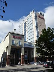 Leaving the Scandic Hotel (seikinsou) Tags: summer hotel midsummer sweden umea scandic