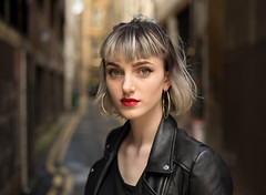 Alice (Charles Hamilton Photography) Tags: glasgow streetportrait glasgowstreetportrait people peopleinthecity portrait backstreet citycentre urban colourstreetportrait characterstudy colours naturallight primelens portraitofgirl buchananstreet northcourtlane nikond750