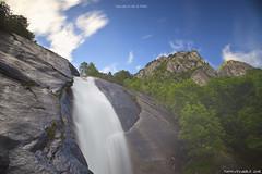 Cascata in Val di Mello (Matteo Rinaldi.it) Tags: cascata stampa valdimello nd1000haida