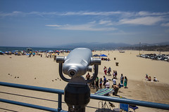 Sightseeing (etzel42) Tags: ocean california santa ca pier santamonica socal monica boardwalk westcoast