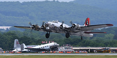 """Boeing B-17G Flying Fortress """"Yankee Lady"""" (albionphoto) Tags: usa reading kate pa b17 worldwarii mosquito corsair mustang fifi dday flyingfortress b29 superfortress maam dehavilland p51d"""
