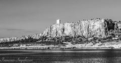 The Tower (Francesco Impellizzeri) Tags: white seascape black monochrome landscape sicily sicilia trapani