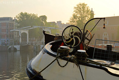 Houseboat on the Amstel (Neal J.Wilson) Tags: travel holland netherlands amsterdam boats europe cities houseboat canals amstel the