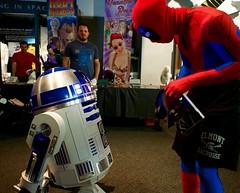 Eternal Con 2016 (M_cicchetti) Tags: new york mouth island star robot long with cosplay fantasy r2d2 convention superhero scifi wars marvel r2 con eternal unit merc mercenary 2016 deadpool spierman