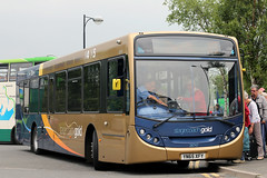 28747 YN65 XFY (Cumberland Patriot) Tags: west bus buses gold floor low north cumbria depot motor e300 300 alexander dennis ltd keswick cumberland cms services stagecoach x4 scania enviro x5 adl in workington lillyhall n230ub transcumbria