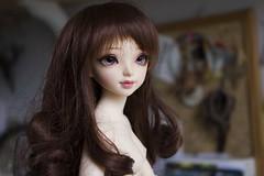 IMG_3768 (~Akara~) Tags: face up ball rainbow doll dress head pastel sewing 14 mini event fairy land bjd fl custom sarang making fairyland fee 2014 jointed mnf faceup minifee