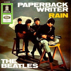 30 - Beatles, The - Paperback Writer - D - 2 - 1966 (Affendaddy) Tags: rain germany 1966 emi odeon thebeatles electrola paperbackwriter vinylsingles collectionklaushiltscher british1960sbeat o23210