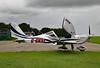 G-GVSL Aerotechnik EV-97 Eurostar SL, Compton Abbas, Dorset (Kev Slade Too) Tags: eurostar dorset comptonabbas ev97 egha aerotechnik ggvsl